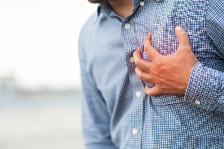 Chest wall inflammation