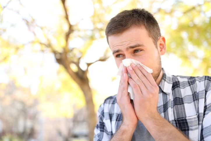 natural hay fever relief